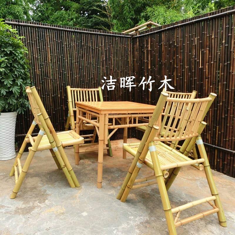 紫竹竹篱笆