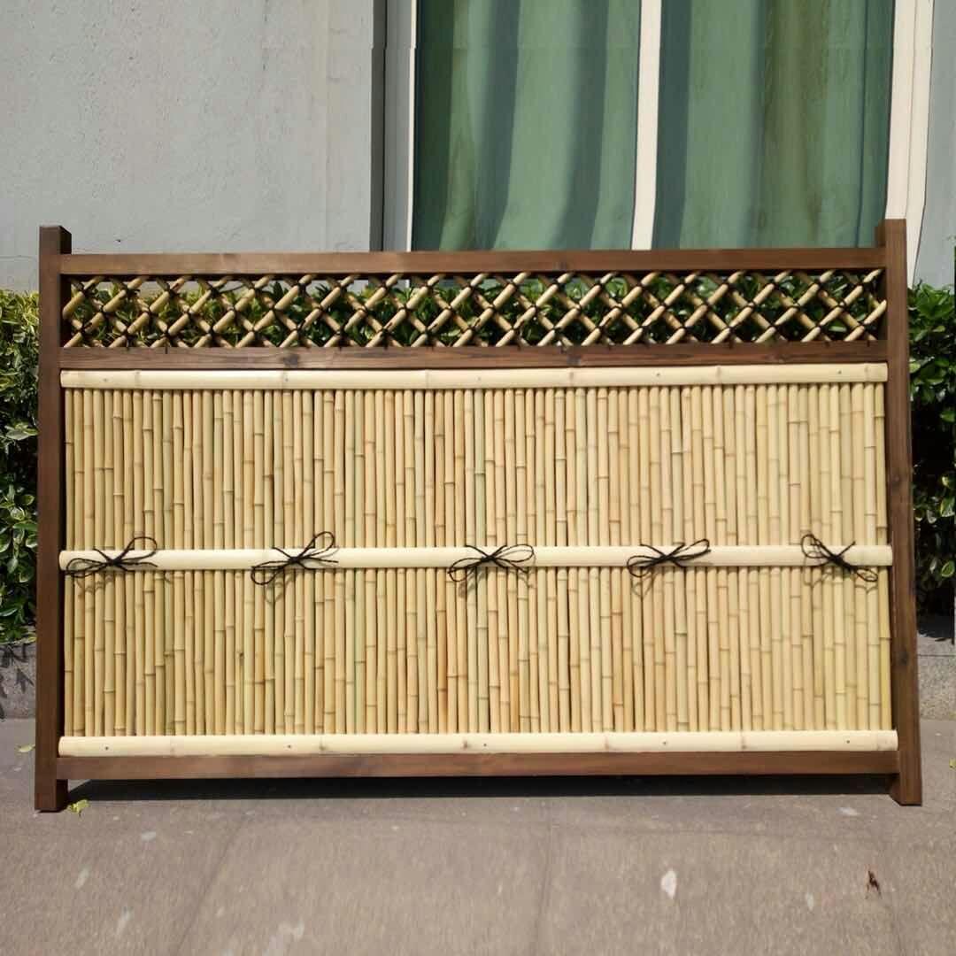 竹木栅栏篱笆