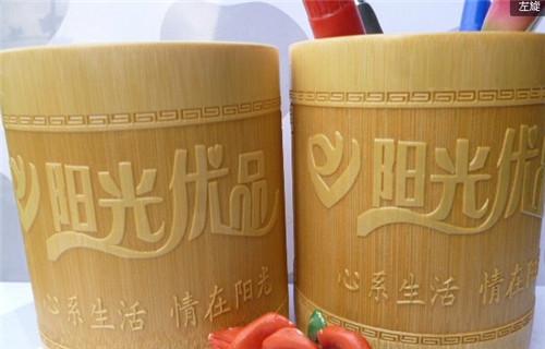 工厂批发竹雕笔筒中国风特色竹制品书法
