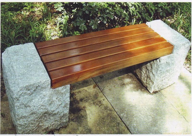 市政石头休闲排椅  公园大理石长椅|振兴定制