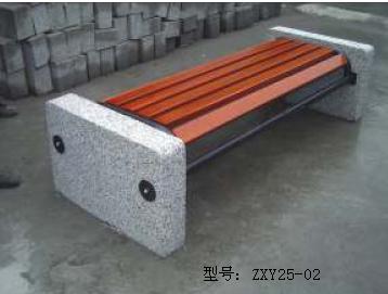 公共石头路椅定制 公园石椅尺寸