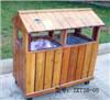 果壳箱木垃圾桶园林垃圾桶农村垃圾箱
