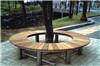 木质靠背公园树围椅 实木坐凳厂家定做批发