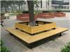 树围椅厂家 实木圆形树围椅|振兴制造