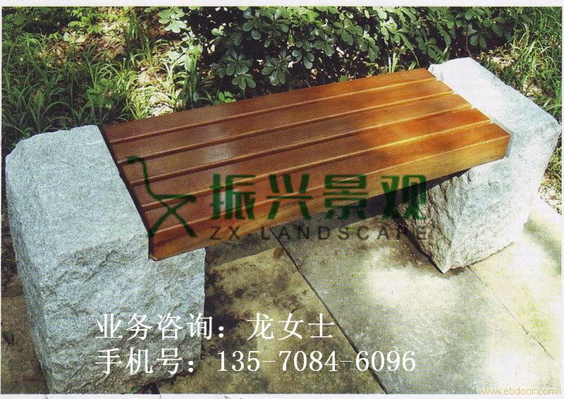 云安定制公园休息长条石凳椅 大理石凳子振兴厂家