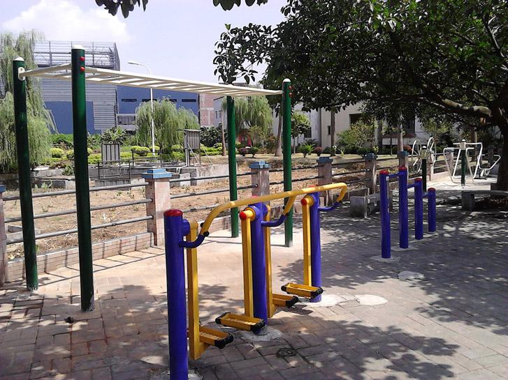 室外社区老年人体育健身路径天梯云梯 免费安装