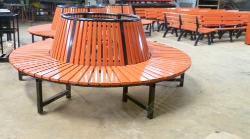 深圳石巖振欣定制景區學校樹池坐凳樹圍椅 安裝廠家