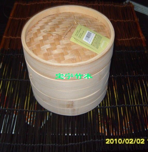 出口竹蒸笼20.3cm