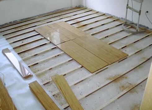 木地板需要龙骨