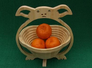 供应竹制水果篮